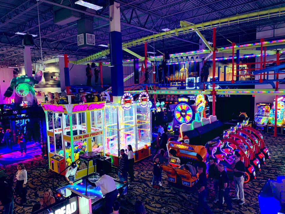 Andretti Indoor Karting and Games arcade interior