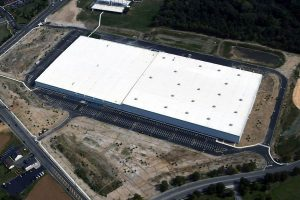 Aurobindo Pharmaceutical drone view of building exterior