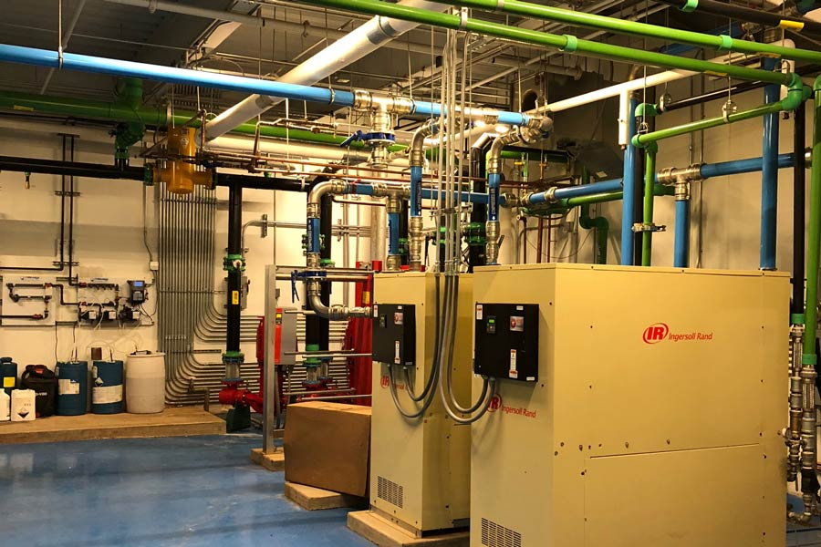 Gestamp HVAC system