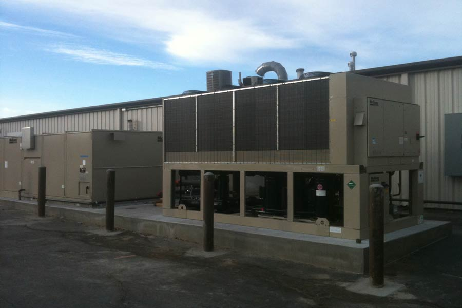 Heatron exterior HVAC Systems