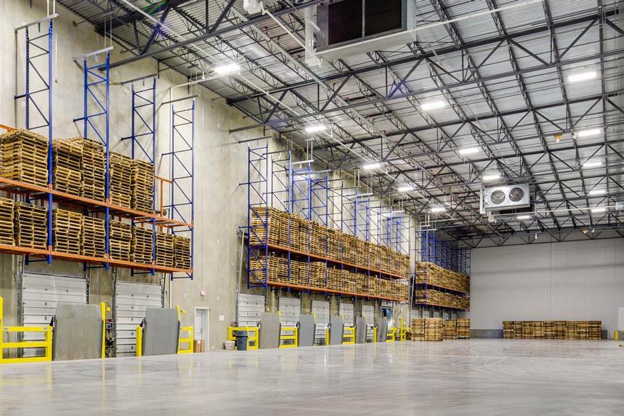 MTC Logistics warehouse interior