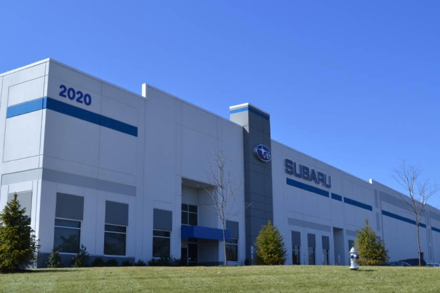 Subaru Building Exterior
