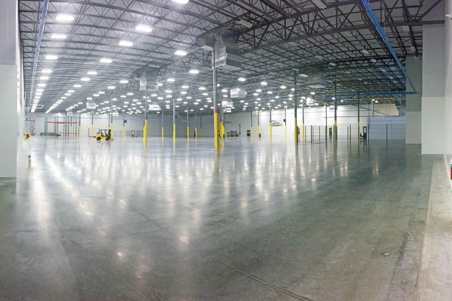 Triumph Group Aerospace Manufacturing building interior