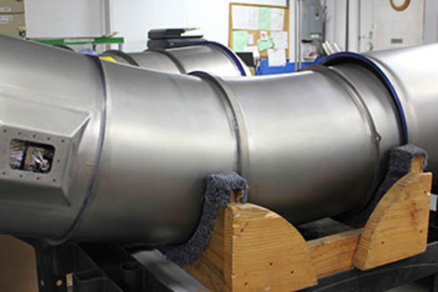 Triumph Group Aerospace Manufacturing closeup of HVAC system