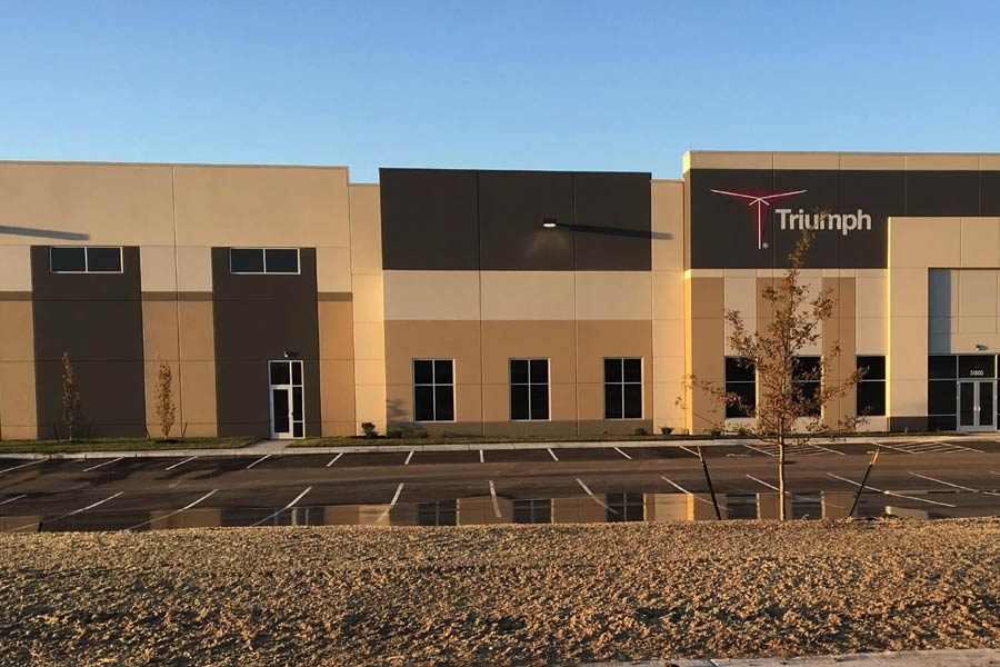 Triumph Group Aerospace Manufacturing building exterior