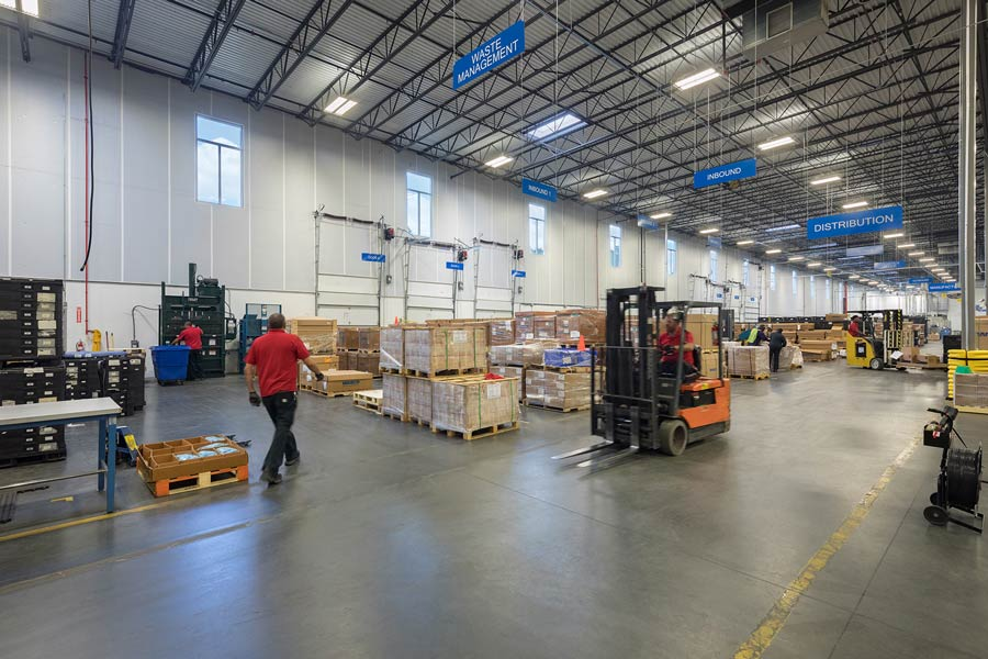 Wabco Compressor Manufacturing building interior